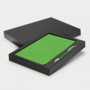 Demio Notebook and Pen Gift Set+Bright Green
