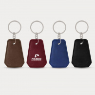 Leatherette Bottle Opener Key Ring image