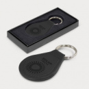 Prince Leather Key Ring Round+debossing