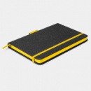 Meridian Notebook Two Tone+Yellow