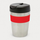 Java Vacuum Cup 340mL+Silver Red