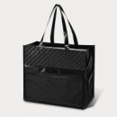 Quilted Laminated Diamond Tote2
