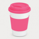 Aztec Coffee Cup+Pink