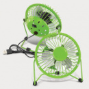 Nexion Desk Fan+Bright Green