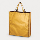 Metallic Non Woven Shopper Gold
