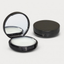 Compact Mirror and Lip Balm+Black
