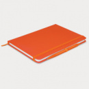 Omega Notebook with pen+Orange