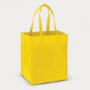 Mega Shopper Tote Bag+Yellow