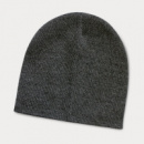 Commando Heather Knit Beanie+Charcoal