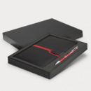 Andorra Notebook and Pen Gift Set+Red