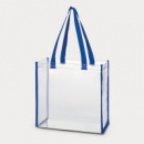 Clear Tote Bag Blue