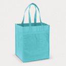 Mega Shopper Tote Bag+Light Blue