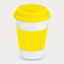 Aztec Coffee Cup+Yellow