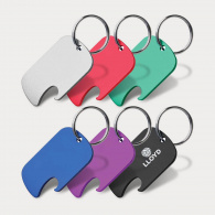 Dog Tag Bottle Opener Key Ring image