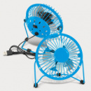 Nexion Desk Fan+Light Blue