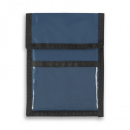 Nylon Wallet Badge and ID Holder+Navy
