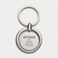 Circular Metal Key Ring image