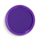 Dual Magnification Folding Mirror Round+Purple