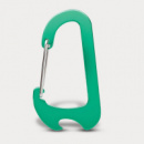 Everest Carabiner Bottle Opener+Green