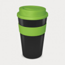 Express Cup Grande Black Cup Light Green
