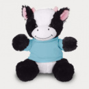 Large Cuddly Cow Light Blue